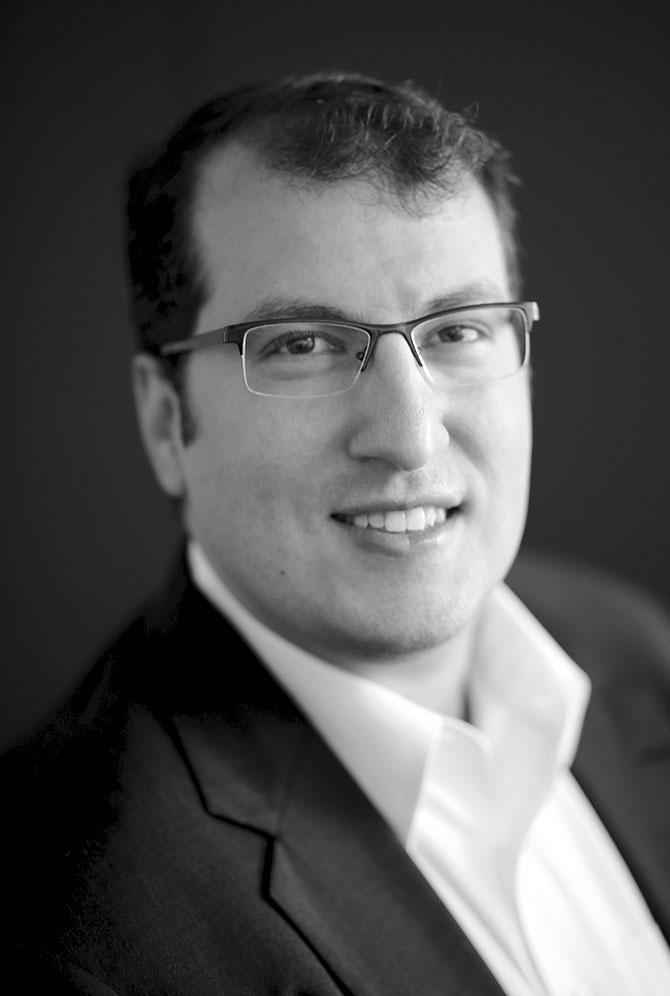 David A Levine Portrait