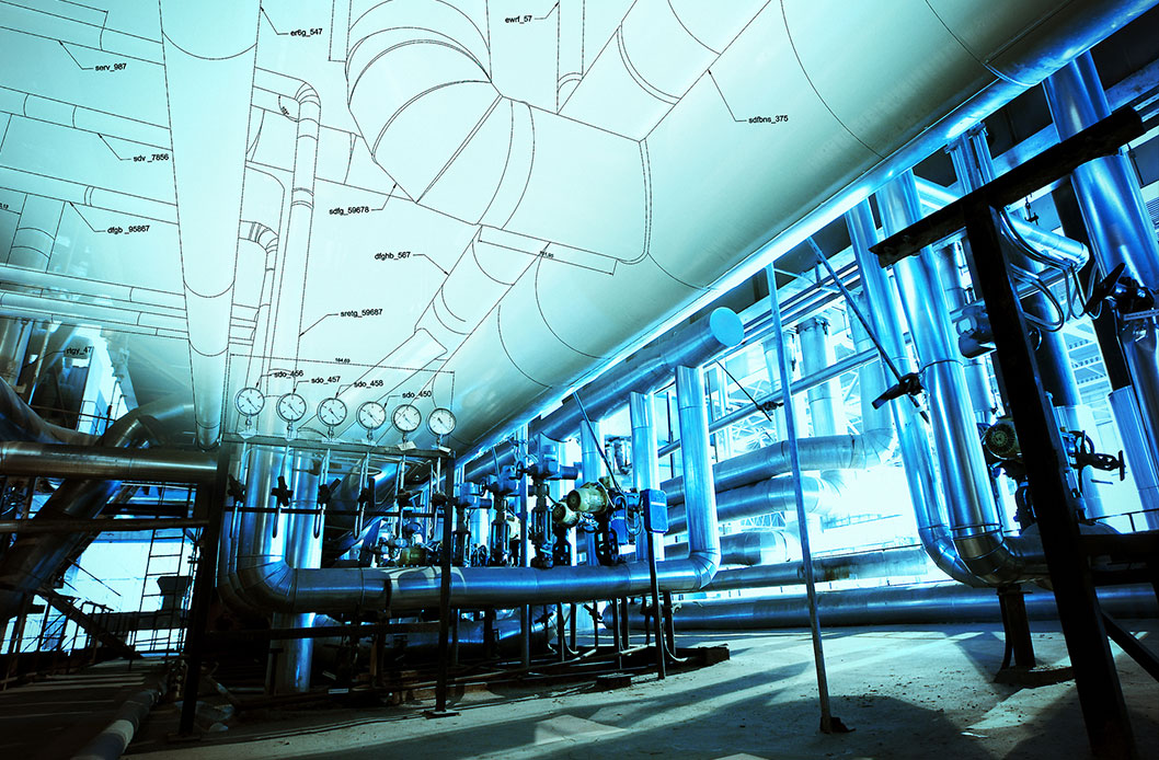 Industrial Drawing Photo