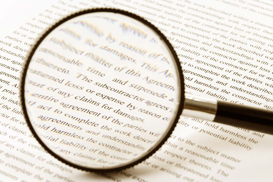 Magnifying Glass - Due Diligence